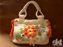 Bolsa Flor Laranja