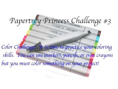 [Papertrey+Princess+Challenge]