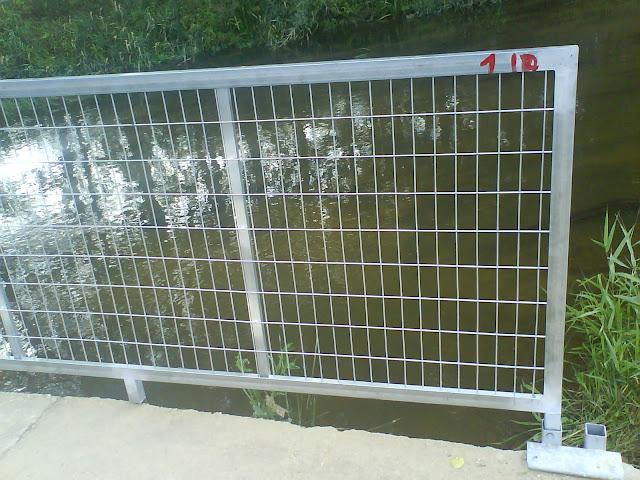 Detalle de la valla