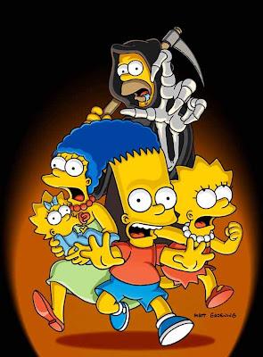 de HALLOWEEN de Los Simpsons , hubo una paricular parodia hacia los