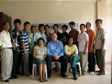 PIBI-B STUDENTS WITH PAUL WHITEHEAD OF KOREA CHRISTIAN UNIVERSITY