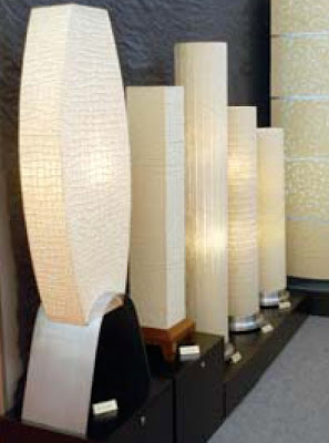 Indonesia Handicraft, lamp from Banana Tree Fiber