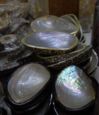 Shell Clam handicrafts from choice handicrafts blog