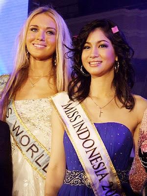 Karenina Sunny Halim, Indonesian Miss World Universe Partisipan cantik seksi telanjang bikin bottom spongbob