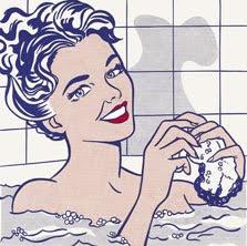 Mujer en el baño. 1963