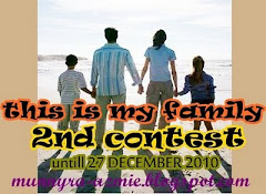 2ND CONTEST : THIS IS MY FAMILY