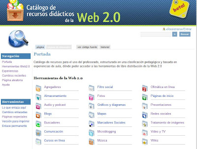 Logotipo de la Web 2.0