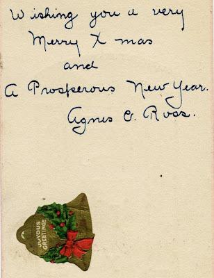 1913 Xmas wishes