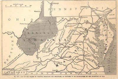 Original proposal for the New State of West Virginia