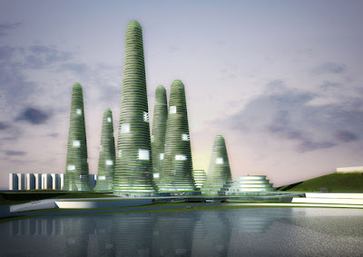 طبیعت را به آسمان میبریم ! طرحی شگفت انگیز در کره جنوبی