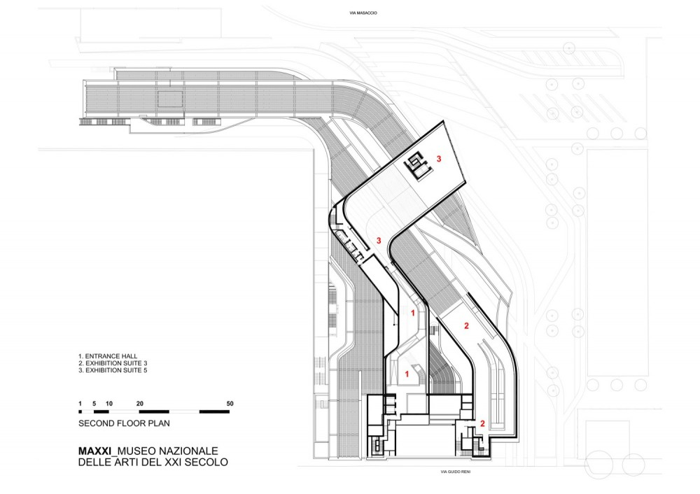 Zaha hadid wins stirling prize with maxxi museum for Tk homes floor plans