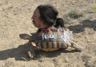 Danny Trejo, Guy brings him to the back room to show him a tortoise