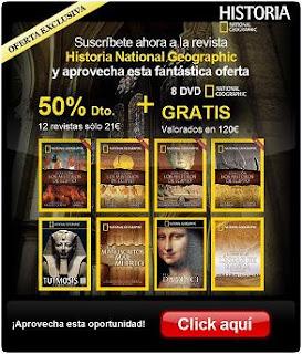 La revista Historia National Geographic, historia, arte y cultura