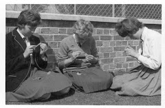 Left to Right:Gerry Foley, Ros Coates, Larry Durow 1962