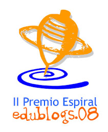 II PREMIO ESPIRAL Edublogs 08