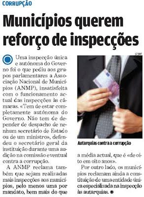 Corrupção nos Municipios [abre noutra janela]