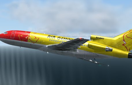 DreamFleet B727-100 COMBI Gemini FS9