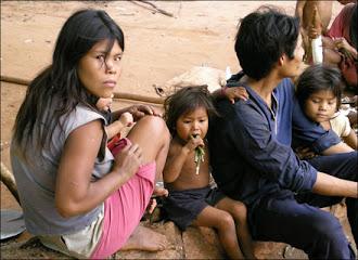 Indignacion con las  Condiciones de  Vida  de  los  Indigenas  en Paraguay