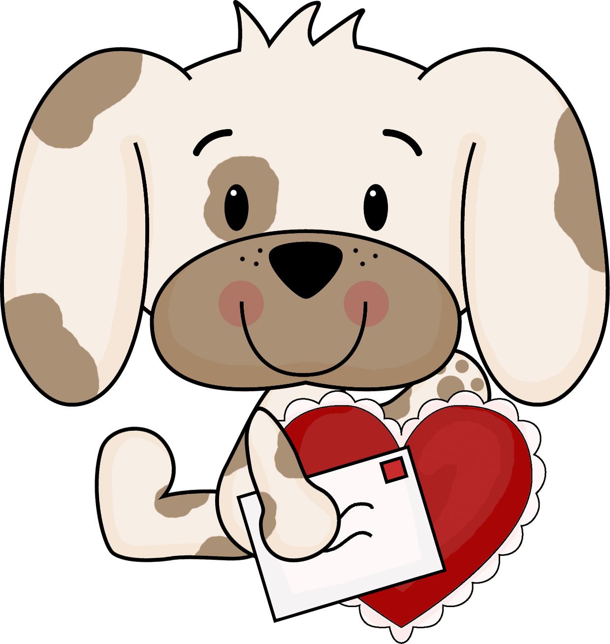 valentine puppy clipart - photo #8