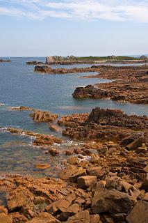 La costa de l'illa de Bréhat
