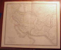 عام 1843م خريطة بلوشستان المستقلة