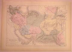 عام 1845م خريطة بلوشستان المستقلة