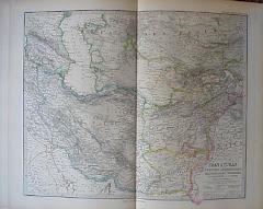 عام 1889م خريطة بلوشستان الشرقية