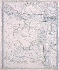 عام 1835م خريطة بلوشستان المستقلة