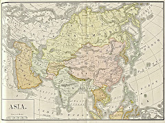 عام 1892م خريطة بلوشستان الشرقية  بعد التقسيم