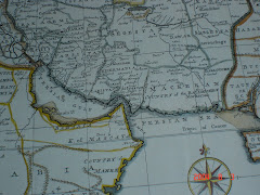 """خريطة بلوشستان كتب عليها باللغة الانكليزية """" دولة البلوش """""""