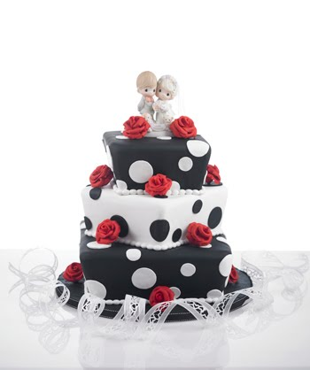 red black and white wedding cakes. Wedding Cakes Black