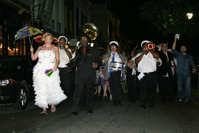 Second Line Wedding | Melissa Nannen Photography New Orleans Second Line Wedding Parade