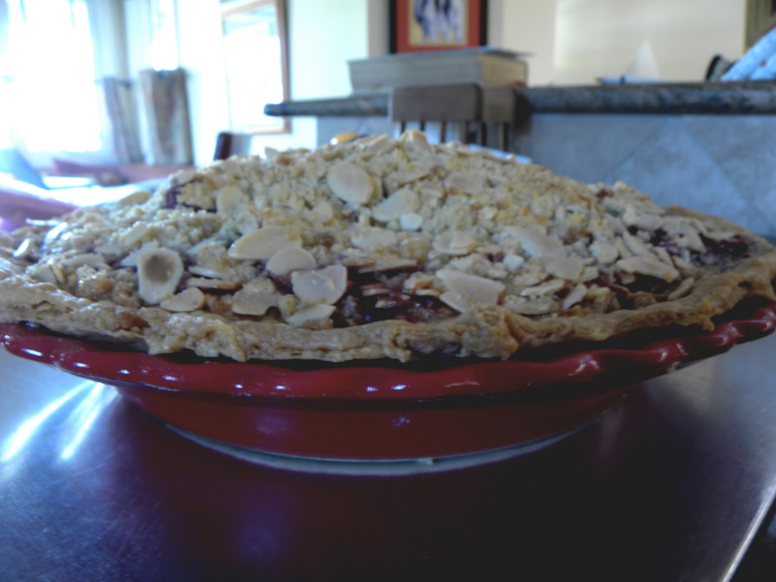 Mountain of Dishes: Berry Pie with Almond, Orange, and ...