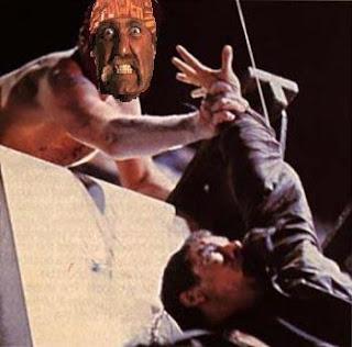 Blade Runner Harrison Ford Hulk Hogan Hollywood shoop Carl Batty Rutger Hauer funny