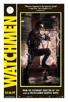 Watchmen movie poster Comedian Zack Snyder