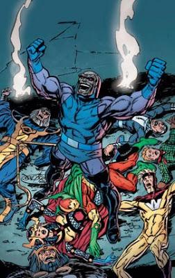 Darkseid new gods kirby fourth world