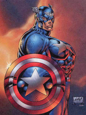 Captain America tits Youngblood Rob Liefeld
