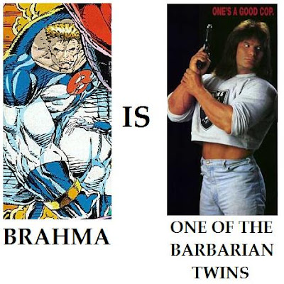 Brahma Barbarian Twins Youngblood Rob Liefeld