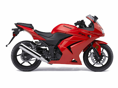 kawasaki 250 ninja red. dresses 94 Kawasaki Ninja 250