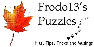Frodo13's Geocaching, GPS, puzzles, graphics