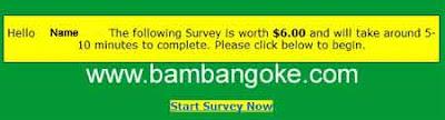 start-survey