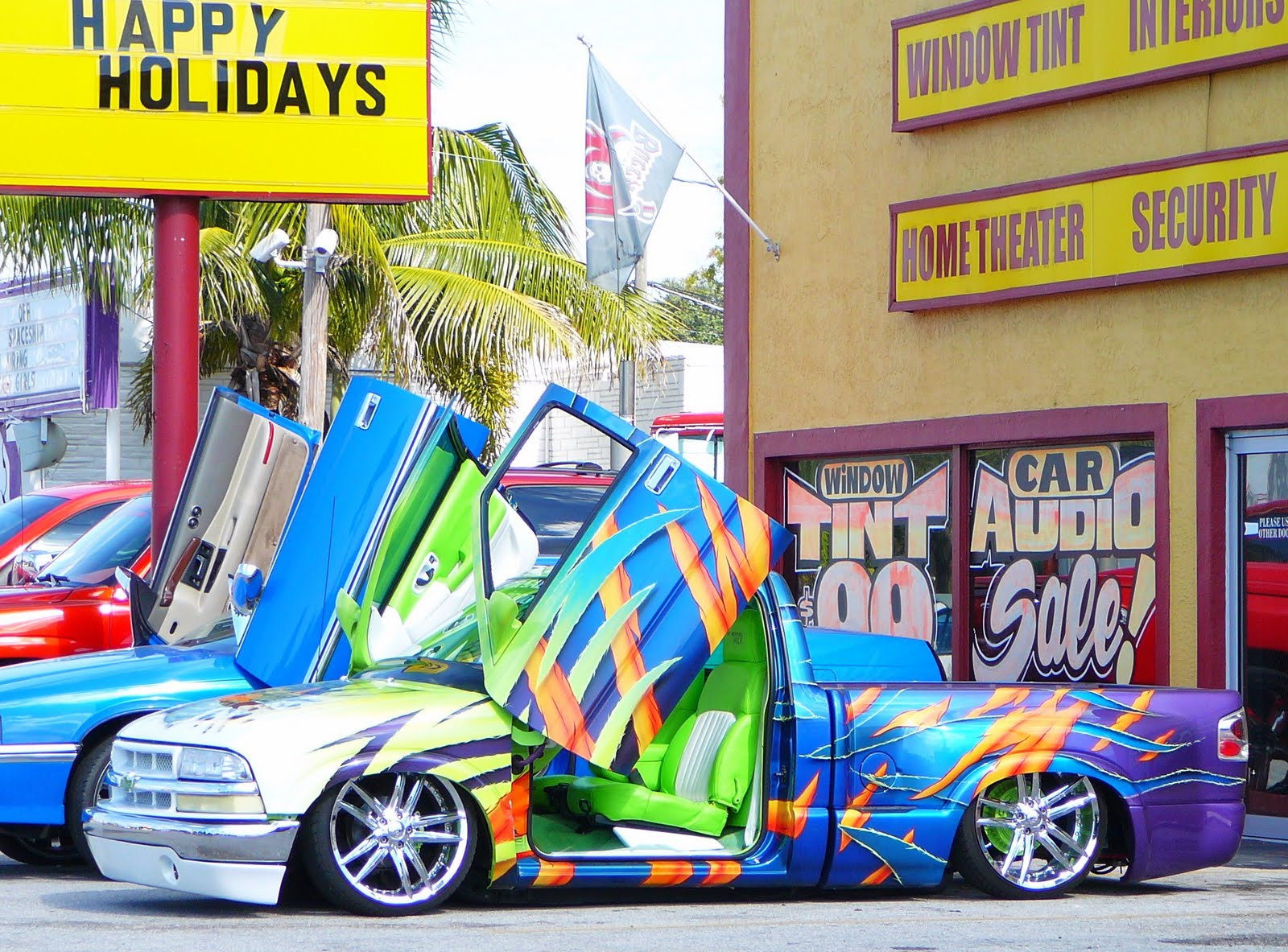 Stuff a lowrider in a stocking