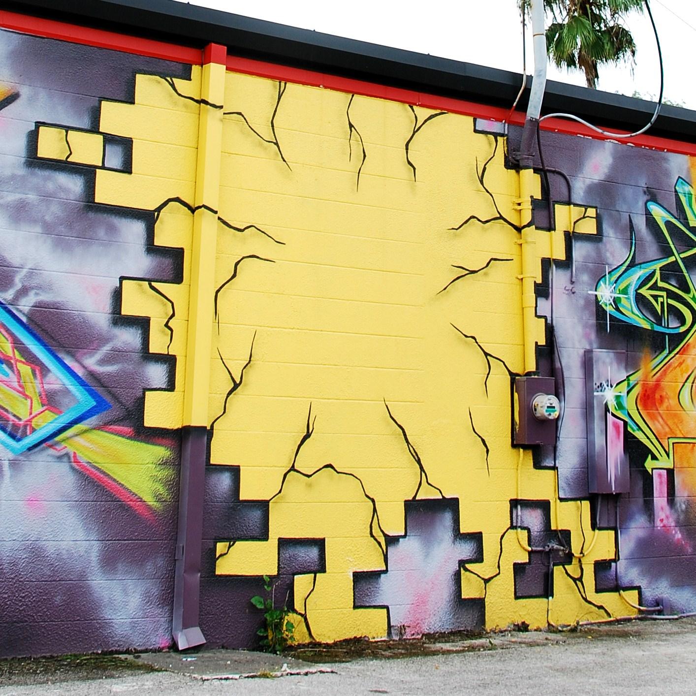Tampa Florida Photo: Wall Murals Rock, Dude!