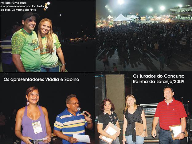 INÍCIO DA 14ª FEIRA DA LARANJA