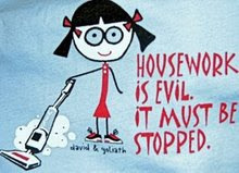 Housework IS Evil!!
