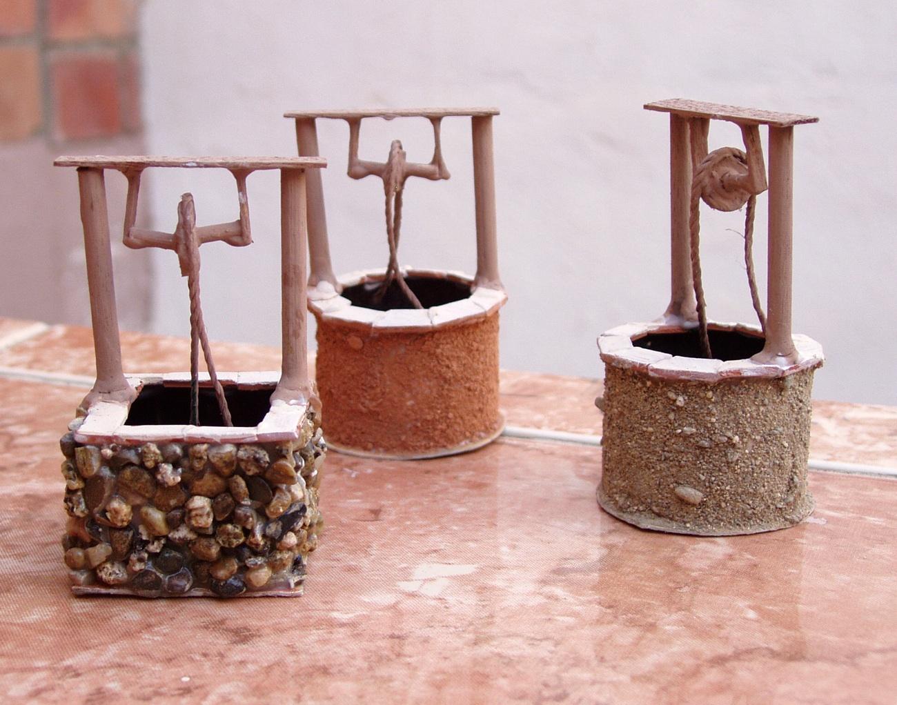 maquetas de casas accesorios para el belen