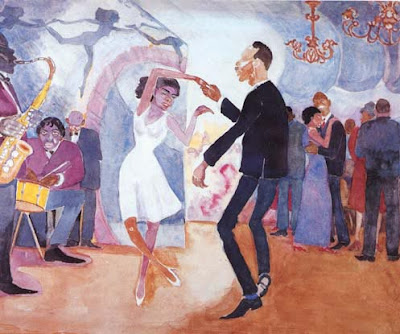 Jeunesse (Youth) by Palmer Hayden. Painted during the Harlem Renaissance