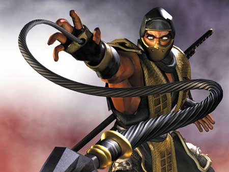 mortal kombat 9 wallpaper. mortal kombat wallpaper scorpion. kombat wallpaper scorpion.