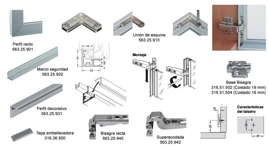 Aluminio 2 generaciones for Perfiles de aluminio para toldos correderos