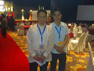 with Mr. Michael Duque of the PNA United Kingdom